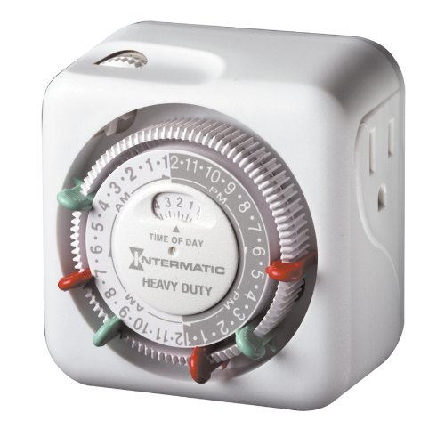 Intermatic TN311 15 Amp Heavy Duty Grounded Timer (Electric Plug Timer compare prices)