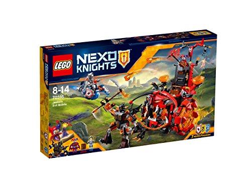 LEGO 70316 - Nexo Knights Il Carro Malefico di Jestro