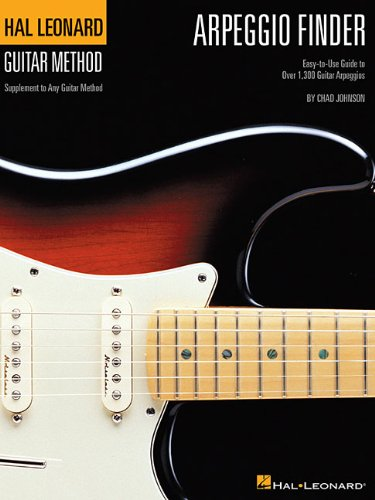 Arpeggio Finder: Easy-To-Use Guide to Over 1,300 Guitar Arpeggios (Hal Leonard Guitar Method)