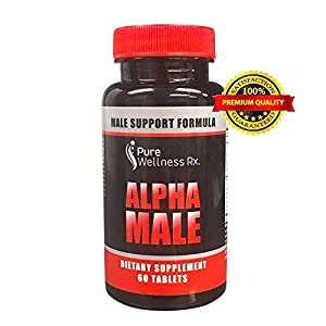 #1 Performing ALL NATURAL Testosterone booster And Male Enhancement EXTREME POTENCY Tablets - Burn Fat, Build Muscle - Increase Sex Drive