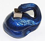 INWISH Therapy Putty, Magnetic Occupational Slime for Hand Exercise and Stress Relief Blue with Free Magnet & Eyes, Blue