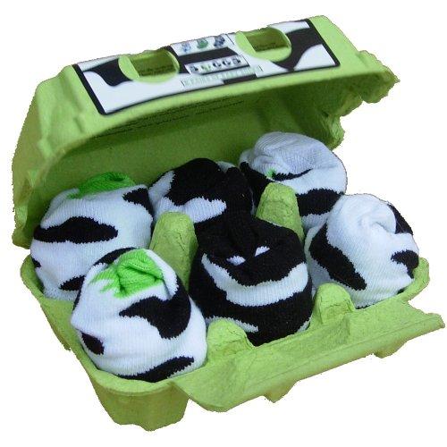 Xplorys Soggs Socks - Cow Print