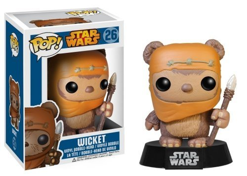 Wicket: Funko POP! x Star Wars Vinyl Bobble-Head Figure w/ Stand - 1