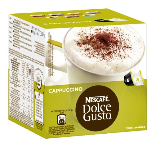 nescaf dolce gusto cappuccino 6er pack 6 x 200 g packung delpi made. Black Bedroom Furniture Sets. Home Design Ideas