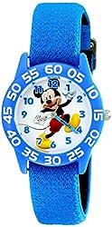 Disney Kids' W001943 Mickey Mouse Analog Blue Watch