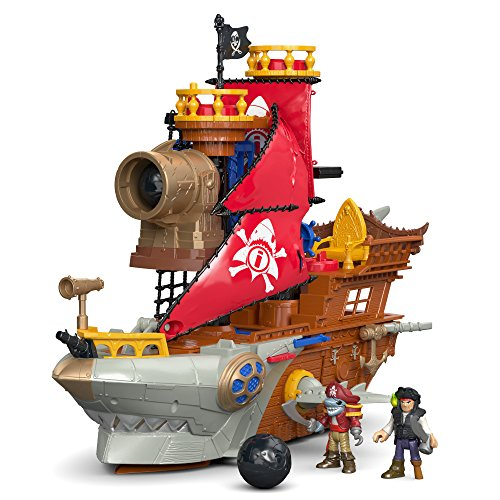 Fisher-Price Imaginext Shark Bite Pirate Ship (Fisher Price Imaginex Boat compare prices)