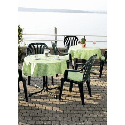 BEST 09820690 Tischdecke rund 160 cm, grün von BEST - Gartenmöbel von Du und Dein Garten