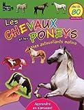 echange, troc Langue au chat - Les chevaux et les poneys : Mes autocollants malins