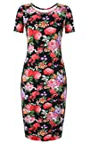 Meaneor Womens Floral Sweetheart Sco…