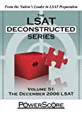 img - for The PowerScore LSAT Deconstructed Series: Volume 51 (The Lsat Deconstructed Series) book / textbook / text book