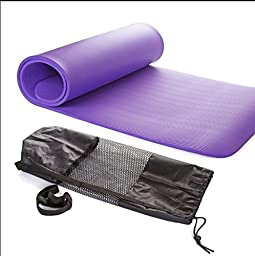 Yoga mat, fitness mat lady, tasteless non-slip, beginner sports mats, yoga mats£¬purple
