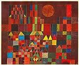 Matterden 'Burg und Sonne by Paul Klee' Poster (Fine Art Paper, 56 cm x 46 cm)