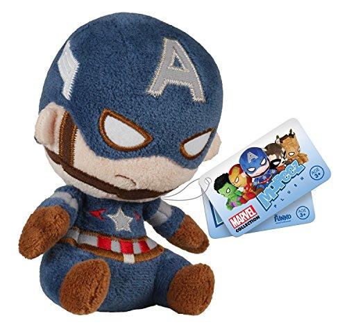Funko - Peluche Marvel Avengers - Capitán América Mopeez 10cm - 0849803055882