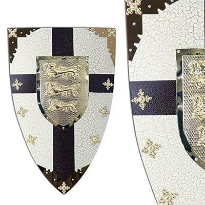 Medieval Renaissance Lionheart Crusader Shield Armor