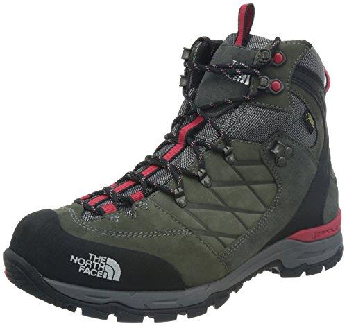 North Face M Verbera Hiker Ii Gtx Scarpe da Camminata, Uomo, Grigio (Ggrey/Tnf Red), 45