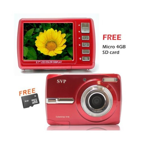 Cybersnap 1018 (with Micro 4GB) 18MP 2.7