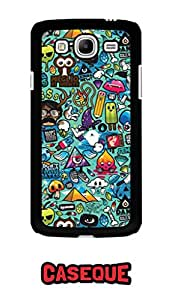 Caseque Azze Things Back Shell Case Cover for Samsung Galaxy Mega 5.8