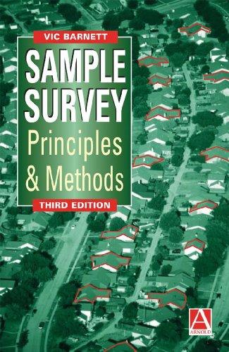 Sample Survey Principles and Methods (Mathematics)