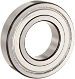 SKF Light Series Deep Groove Ball Bearing, Deep Groove Design, ABEC 1 Precision, Double Shielded, Non-Contact, Steel Cage, C3 Clearance