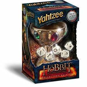 Yahtzee The Desolation of Smaug Collector's Board Game