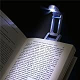 eForCity® Silver LED Reading book light Lamp Compatible With Amazon kindle 3 3rd 3G Wifi Keyboard