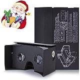 Kollea Google Cardboard Virtual Reality 3D Glasses DIY Kit - Easy Setup