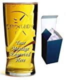 20oz Strongbow Glass with FREE Engraving up to 30 Letters in Board Gift Box