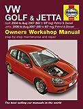VW Golf & Jetta Service and Repair Manual: 2004-2009 (Service & repair manuals)