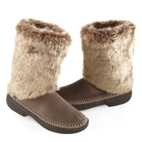 Cheap Women's Woodlands Tall Chunky Boot Slippers (B009KQI9R6)