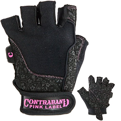 Contraband-Pink-Label-5127-Womens-Weight-Lifting-Gloves-w-Comfort-Soft-Interior-Padding-PAIR