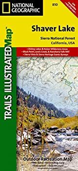 TI Map #810- Shaver Lake/Sierra National Forest
