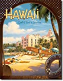 Hawaii Surf & Sunshine metal sign
