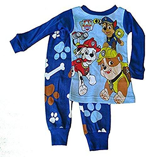 nickelodeon-ensemble-de-pyjama-bebe-garcon-0-a-24-mois-bleu-bleu