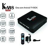 KM8 PRO Amlogic S912 Android 6.0 Bluetooth 4.0 4K UHD Smart TV Box Octa Core Streaming Media Player 2G 8G