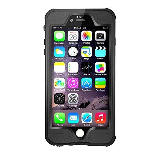 Merit iPhone 6s/6対応 フルプロテクションカバー 防水 防塵 耐衝撃 ケース ブラック