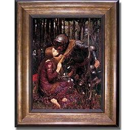 La Belle Dame Sans Merci by Waterhouse Premium Bronze Framed Canvas (Ready-to-Hang)