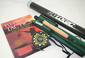 Fly Logic 5 Weight Fishing Rod Reel Line Combo Kit Complete Outfit with Instruction... by Fly Logic