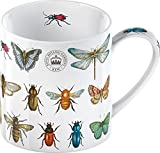 Creative Tops Royal Botanic Gardens Kew Bug Study Fine China Mug, Multi-Colour
