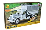 Small Army 2449, WW II german transportation vehicle Opel Blitz 3-tons 4x2, 350 building bricks by Cobi