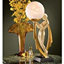Design Toscano The Desiree Art Deco Lighted Sculpture