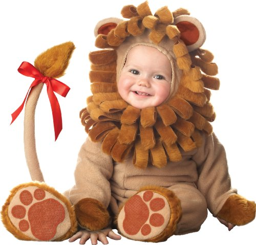 InCharacter Unisex-baby Infant Lion Costume, Brown, Small (6-12 Months)