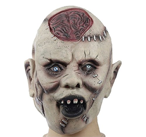 Ghost Scary Halloween Masquerade Party Costume Cosplay Bloody Full Face Mask