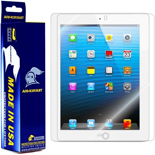 Why Choose The ArmorSuit MilitaryShield - Apple iPad 4 with Retina Display / iPad 3 / iPad 2 Screen ...