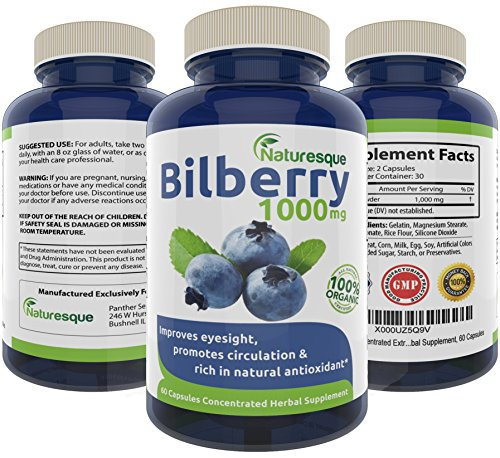 Pure-Bilberry-Extract-1000mg-Eyesight-Support-Rich-in-Natural-Antioxidants-Supports-Connective-Tissue-Health-60-Concentrated-Capsules-Pills-Natural-Non-GMO-Premium-Herbal-Supplement
