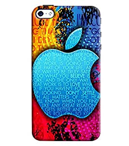 Clarks Apple Inpsired Hard Plastic Printed Back Cover/Case For Apple iPhone 4s