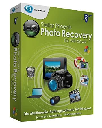 Stellar Phoenix Photo Recovery für Win (Mini-Box)