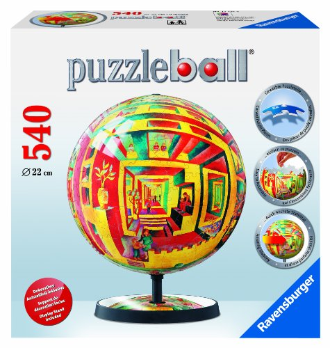 Cheap Fun Ravensburger Illusions – 540 Pieces Puzzleball with Special Stand (B00385X40W)