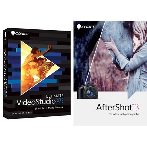 Corel VideoStudio Ultimate X9 with AfterShot 3 [Download] (Corel Video Studio Ultimate compare prices)