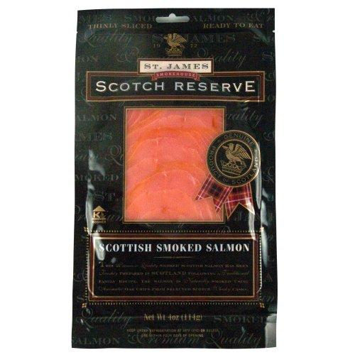 St. James Scottish Reserve Sliced Skinless Smoked Salmon ...