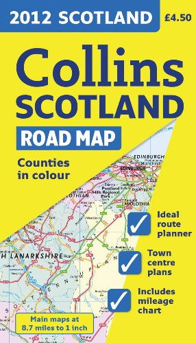 2012 Collins Scotland Road Map (International Road Atlases) PDF